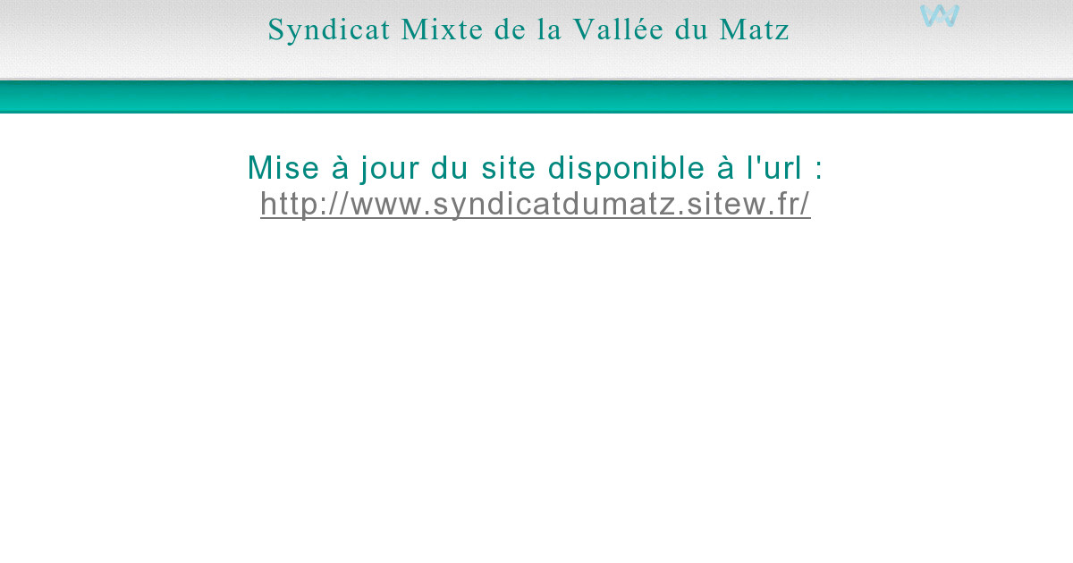 Vall e du matz les syndicats du matz - Office national de l eau et des milieux aquatiques ...
